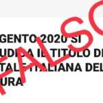 """Agrigento già designata Capitale della Cultura? Firetto: """"La più grande fake news mai prodotta"""""""