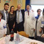 Reparto di pediatria dell'Ospedale di Agrigento: donato un televisore a schermo gigante
