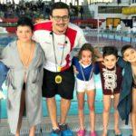 Secondo posto per la Nuoto Agrigento nella seconda tappa regionale Libertas