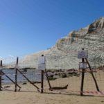Scala dei Turchi, continuano i lavori per la messa in sicurezza del costone