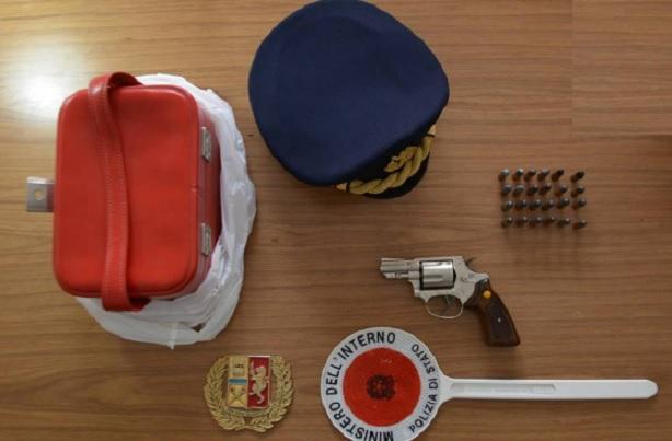 Licata, in possesso di una pistola con matricola abrasa: arrestato 70enne