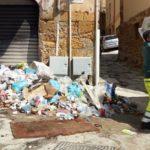 Agrigento, bonificata la via Vallicaldi: operai a lavoro