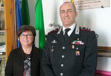 Licata, il commissario Brandara riceve il comandante provinciale dell'Arma dei Carabinieri