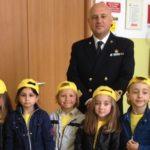 Porto Empedocle, piccoli studenti in visita alla Capitaneria di Porto