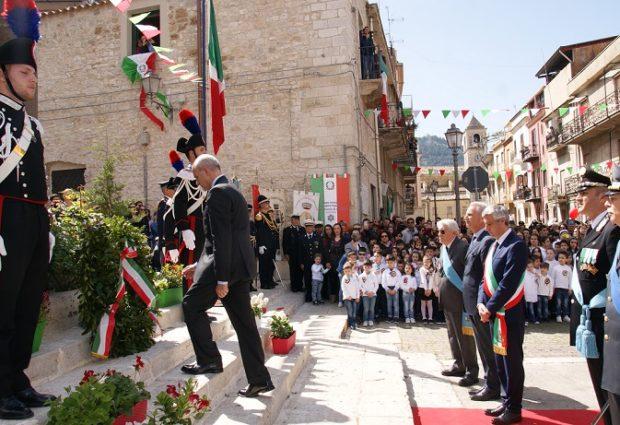 A Santo Stefano Quisquina celebrato il 73esimo anniversario della Liberazione d'Italia