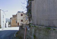 Cammarata, muro a rischio crollo: aggiudicati lavori