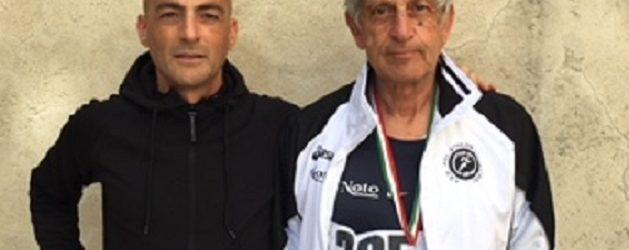 Il riberese Pippo Provenzano secondo nella categoria SM 70 al campionati italiano pentalanci