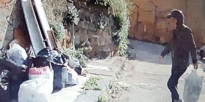 """Agrigento, abbandonano rifiuti per strada: """"beccati"""" altri otto """"lanciatori seriali"""""""