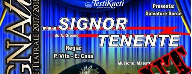"""Favara, sabato in scena la commedia """"Signor Tenente"""" della compagnia teatrale Testikueti"""