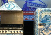 Elettrodomestici firmati da Dolce & Gabbana: anche un frigorifero con tema Valle dei Templi