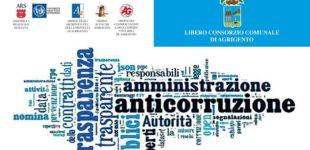 """Libero Consorzio Agrigento: a giugno un importante convegno su """"Anticorruzione nella Pubblica Amministrazione"""