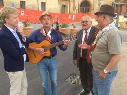 """Agrigento, musica """"giurgintana"""" e siciliana al Belvedere Modugno"""