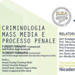 Il professor Francesco Pira relatore a Pozzallo dell'importante congresso su Criminologia, mass media e processo penale