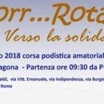 """Ad Aragona la corsa podistica """"Corr….Rotary, 7 Km verso la solidarietà"""""""