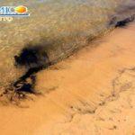 """""""Chiazze nere nel mare di San Leone"""", Mareamico: """"probabile l'abbandono di olio esausto"""" – VIDEO"""
