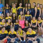 """Gli alunni alunni dell'Istituto """"Rita Levi Montalcini"""" fra formazione e sport: concluso il corso di pallavolo"""