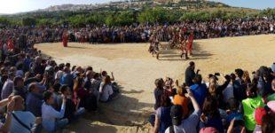 Living history alla Valle dei Templi: il trionfo di Esseneto, atleta di Akragas e campione ai giochi olimpici