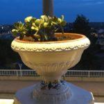 Agrigento, Viale della Vittoria: completata la collocazione dei 112 vasi