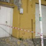 Agrigento, calcinacci volano da un palazzo di via Imera: intervengono i Vigili del Fuoco