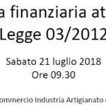 """Agrigento, alla CCIAA un seminario sulla """"rinascita finanziaria"""""""