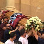 """L'ultimo """"saluto"""" di Porto Empedocle a Marco Ferrera – FOTO E VIDEO"""