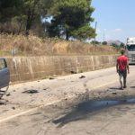Scontro fra auto sulla Palermo-Sciacca: arriva l'elisoccorso – FOTO