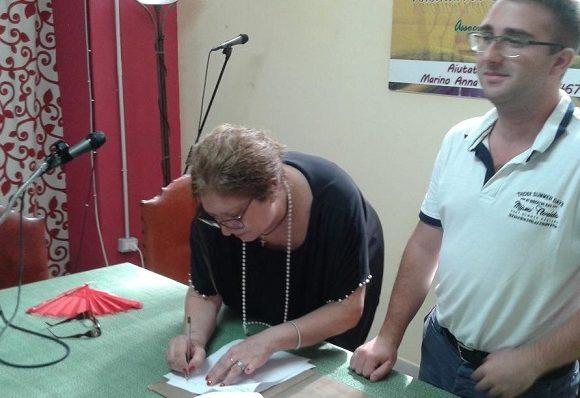 Anna Marino e Giuseppe Petix