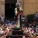 Agrigento piena di fedeli per la prima domenica di San Calogero – FOTO E VIDEO