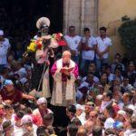 Agrigento, San Calogero abbracciato dai fedeli: stasera la conclusione dei festeggiamenti