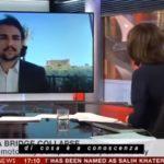 Crollo del Ponte Morandi a Genova: la BBC si collega con Agrigento