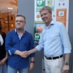 Collocato defibrillatore a San Leone, a donarlo Giuseppe Bartolomeo
