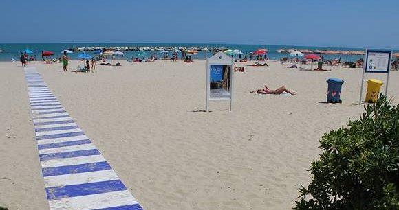 Passerella spiaggia