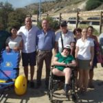 Siculiana, donata la sedia job che consentirà ai disabili di fare il bagno al mare