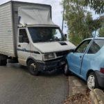 Agrigento, incidente al Parco Icori: a scontrarsi un'auto e un furgone – FOTO
