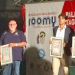 """Alla Seap Pallavolo Aragona il premio """"Antonio Barbagallo"""" per la promozione in B2"""