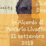 """""""Rosario Livatino, l'Uomo e il Giudice"""": domani un convegno al Liceo """"Empedocle"""" di Agrigento"""