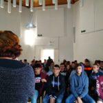 """Alessandro Cacciato incontra gli studenti del """"Gino Zappa"""" al centro Kalat"""