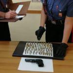 Blitz all'interno di un'abitazione a Palma di Montechiaro, trovate munizioni ed una pistola: in manette un pensionato
