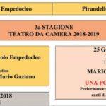 Agrigento, presentato il cartellone della nuova stagione del Teatro da Camera
