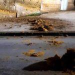 Agrigento, crollano massi dal costone dell'Addolorata: paura nel centro storico