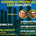 Agrigento, oggi Assemblea Provinciale della Lega Salvini Premier