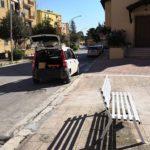 Agrigento, operai a lavoro per migliorare il decoro urbano