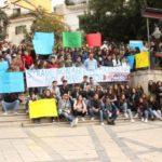 """Bivona, studenti in protesta """"Scuole impossibili da raggiungere per via delle strade distrutte"""""""