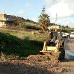Agrigento, dopo il maltempo ripulite le strade cittadine – FOTO