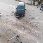 Favara, auto precipita dalla Via Kennedy su Corso Vittorio Veneto: tragedia sfiorata – VIDEO
