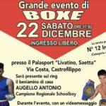 Castrofilippo, sabato evento di Boxe con la partecipazione del campione regionale Antonio Augello