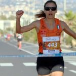 Edna Caponnetto vince la mezza maratona di Catania