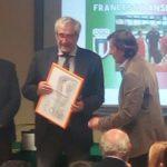 """Il Coni premia coach Francesco Anselmo con la """"Palma di bronzo al merito tecnico"""""""