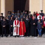 Lampedusa, precetto Natalizio Interforze alla chiesa di San Gerlando