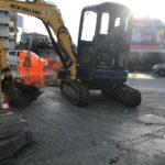 Agrigento, continuano i lavori di ripristino del manto stradale in diverse vie cittadine